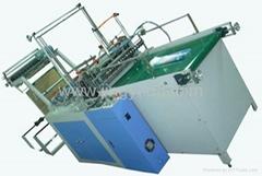 Servo motor driving bottom seal bag making machine