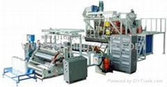 3 - lay Automatic Cast PE Stretch Film Machine