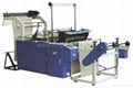 Perforated bag on roll machine