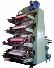 四色膠版印刷機