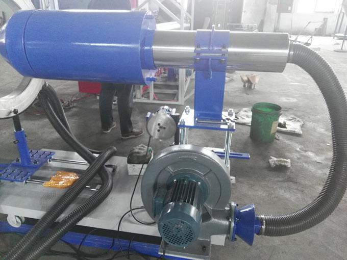 Mandrel with water & air cooling