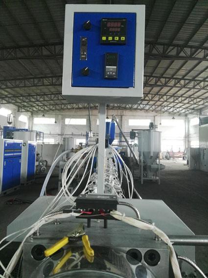 Head console of temperature pressure