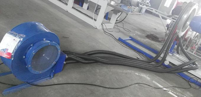 Air ring with big blower