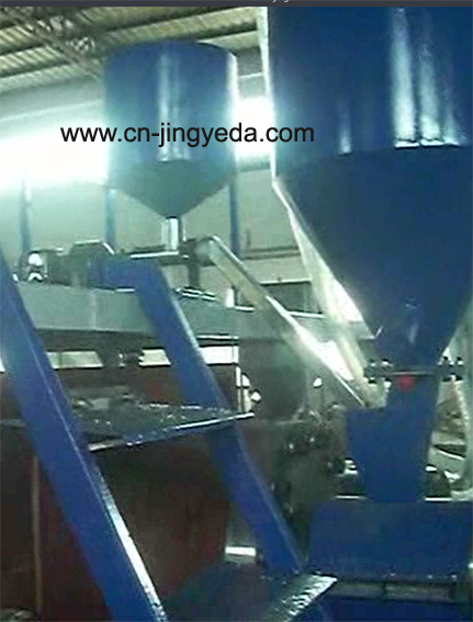 Direct additives feed in