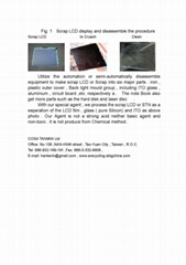 Scrap LCD & ITO Recycling
