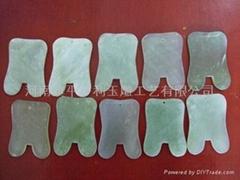 玉石刮痧板美容器玉石配件