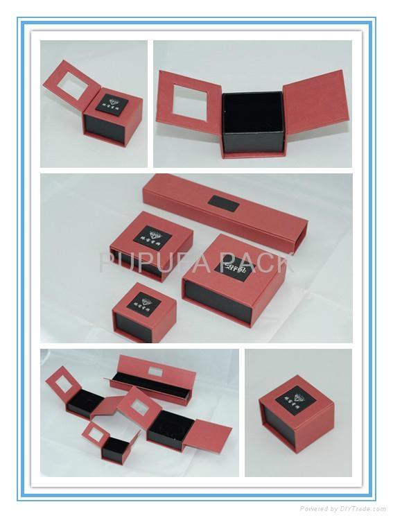 Paper box gift box magnetic box fold box 1