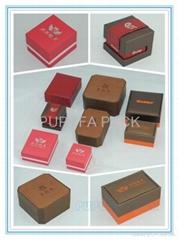 珠宝展示盒胶盒纸盒木盒皮盒酒盒纽扣盒笔盒金币盒
