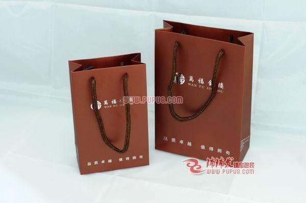 香檳金色首飾紙禮品袋 1