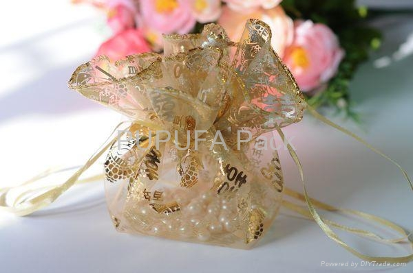 Various kinds of organza pouches cosmetic gift bags packaging bags 2