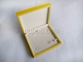yellow gloosy finish wooden jewelry box 2