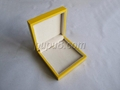 yellow gloosy finish wooden jewelry box 4