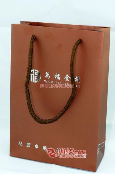 香檳金色首飾紙禮品袋 2