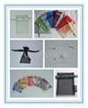 Various colors shapes of velvet pouches organza pouches cotton bags gift b 5