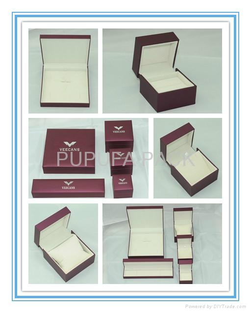 Attractive Jewellery gift box leatherette box 3