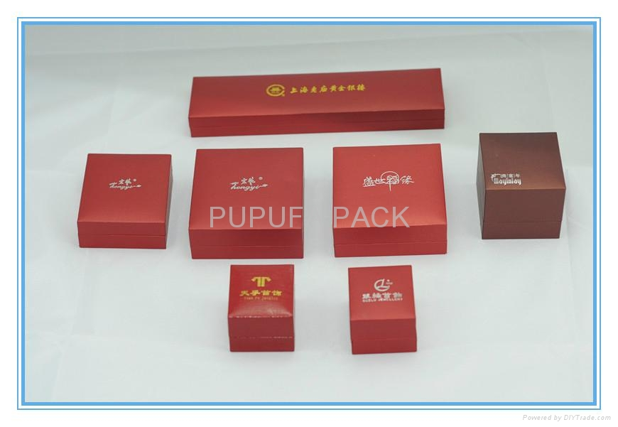 Attractive Jewellery gift box leatherette box 4